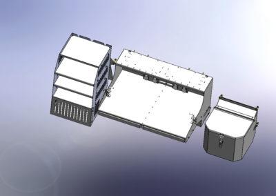 M36 COMMAND VEHICLE INTERIOR